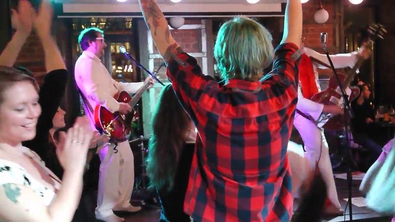 Long Tall Sally Сover (Elvis Presly) MOSVEGAS rock-n-roll band!