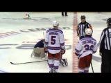 Troy Brouwer Collision With Derek Stepan (10/16/13)
