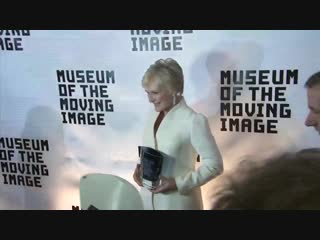 CLOSE ENCOUNTER The career of GlennClose was celebrated at the MuseumOfTheMovingImage and the actress says she's always tried to