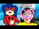 ЛЕДИ БАГ и СУПЕРКОТ Челлендж Роблокс ШКОЛА приключения мультик видео для детей детский летсплей