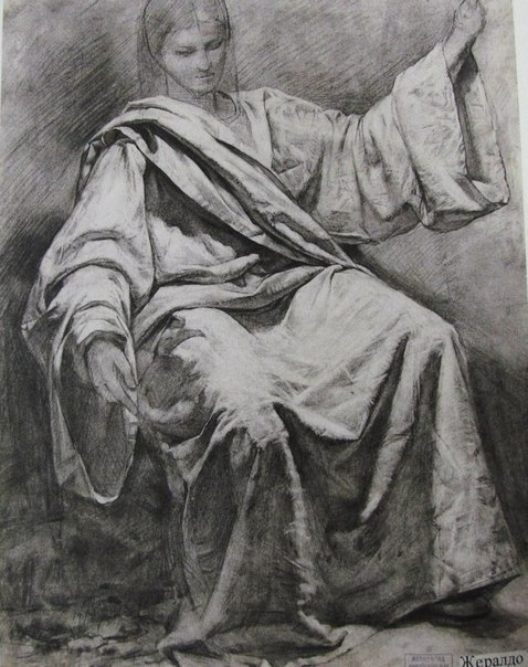 Drawing drapery in pencil dating 3