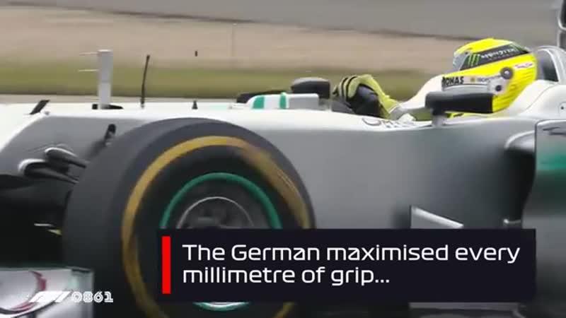 Росберг одержал первую победу Mercedes с 1955 года Гран При Китая 2012