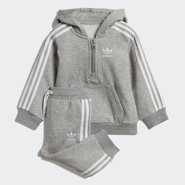 Флисовый комплект: толстовка и брюки Hoodie