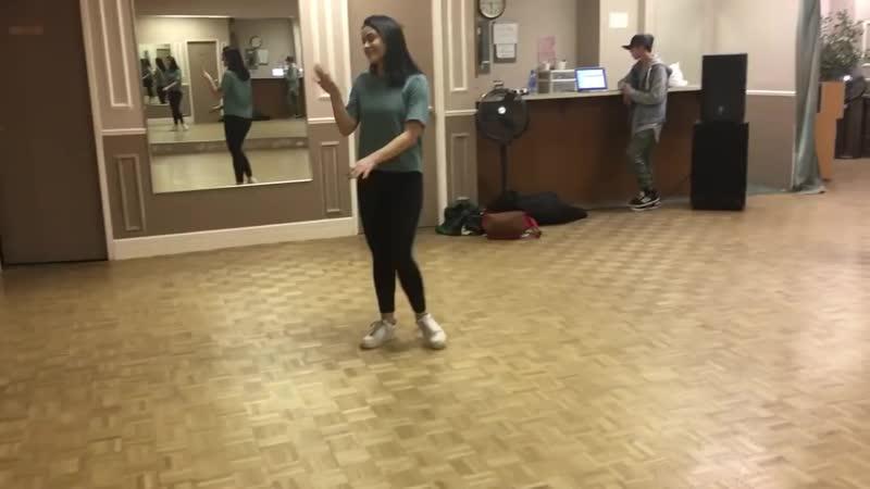 Крошки Ривердэйла ♡ Шерил и Вероника репетиция танца