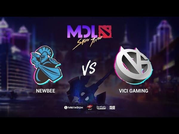 NewBee vs Vici Gaming - Group Stage - MDL Macau 2019