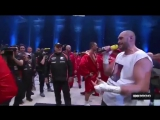 Фьюри исполнил песню Aerosmith после победы над Кличко Tyson Fury Sings AEROSMITH I Dont Want To Miss A Thing After Winning!