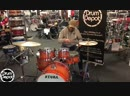 Tama Superstar Classic 5pc shell pack in Tangerine Lacquer