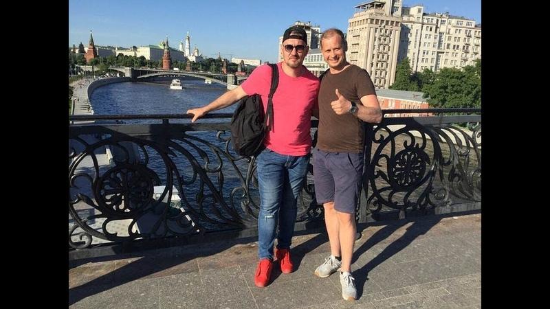 Встреча с Сергеем Ягужинским ВДВ в Москве часть 1