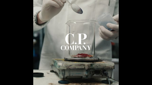 C.P COMPANY I The Garment Dyeing process
