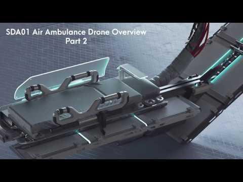 Nvidia Metropia 2042 Vehicle Ambulance Drone Overview Part 1