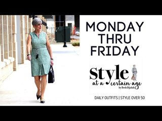 daily outfits | style over 50