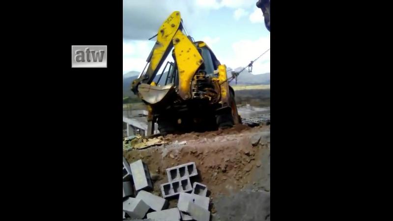 Ужасные крушения в мире современной техники_Horrible images of the crash of modern technology