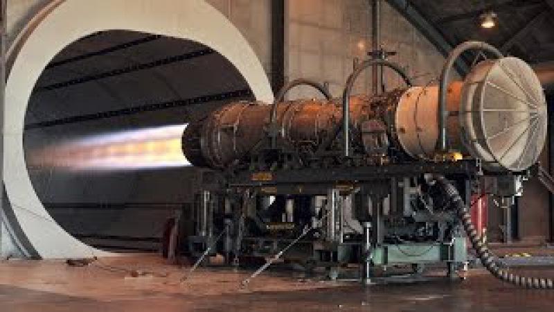 Запуск реактивных двигателей