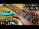 Brice 37 Scale Earthquake Bass Review Contrabass Guitar 2 0 Build