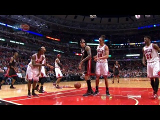 Marquis Teague's accidental tip-in on his own basket