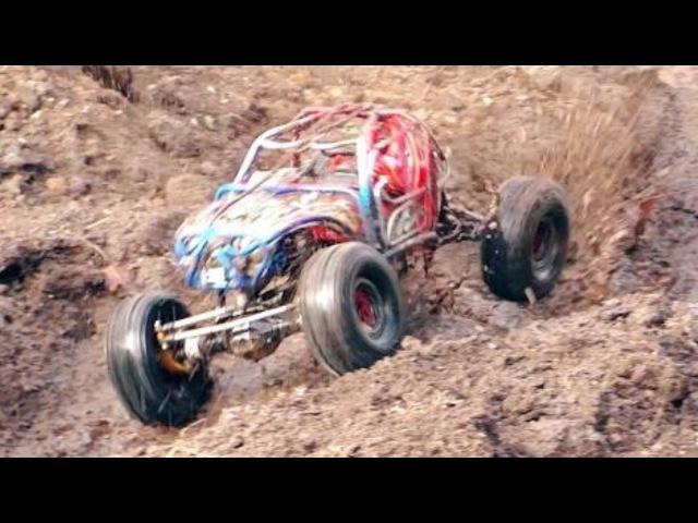 Mud Bogging! Rock Bouncing ! Axial VS Vaterra, SCX10II, SCX10, Ascender, Worlds's Greatest RC Park