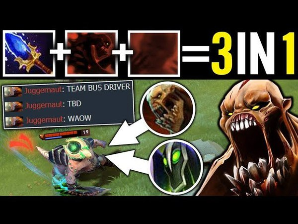 THE BUS DRIVER in Dota Wagamama 3 in 1 Tactic Lifestealer Aghanim Dota 2