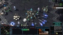 ★ Игра вдвоём за 1 базу 1   StarCraft 2 с ZERGTV ★
