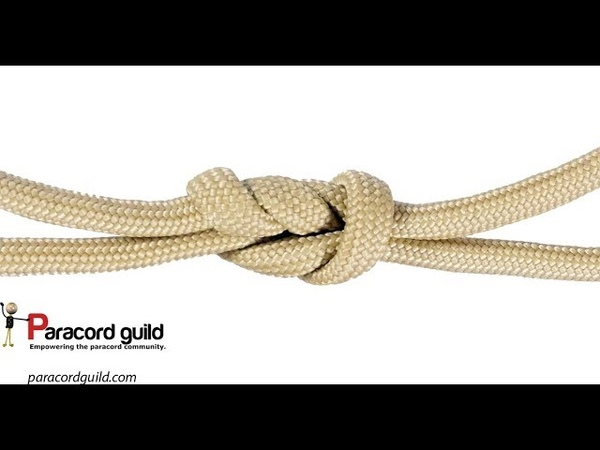 Surgeon's knot- a better reef knot