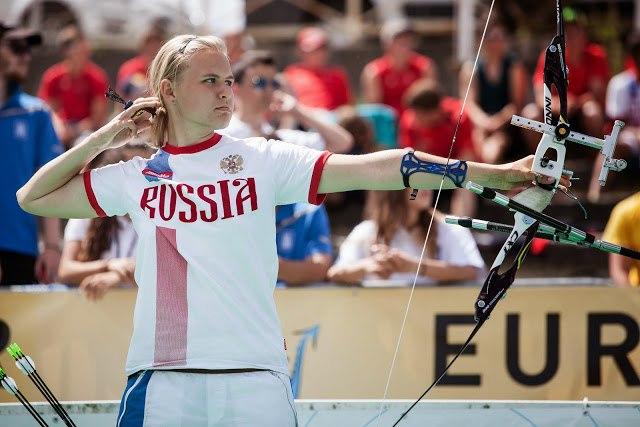Россиянка Елена УВАРОВА