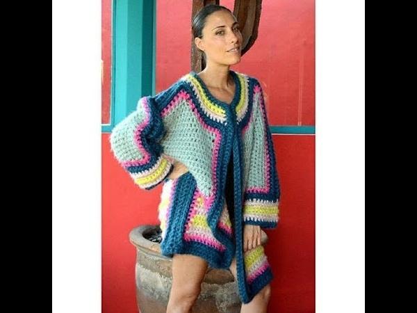 Многоцветный Пуловер Спицами 2019 Multi color Pullover Knitting Needles