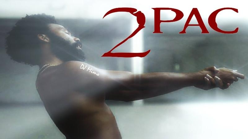 This is America - 2Pac Shakur (Sad Video Remix) 2018