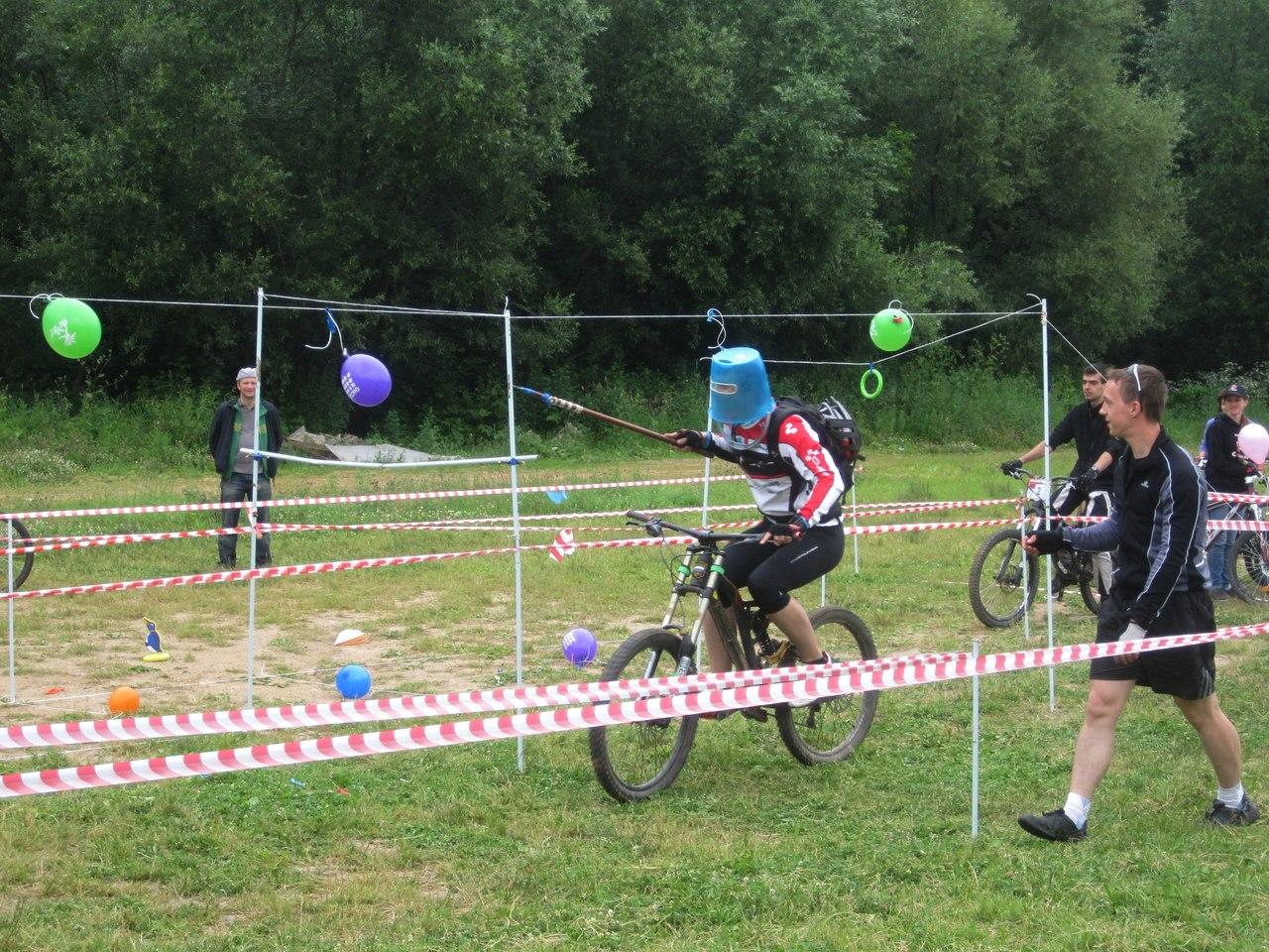 Конкурсы велосипедистов