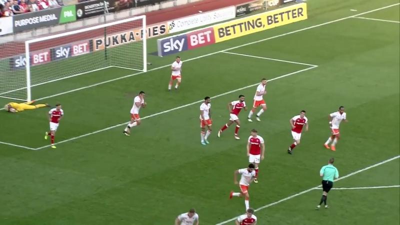 Ротерхэм Юнайтед 1 - 0 Блэкпул Лига 1 2017/18. 46 тур