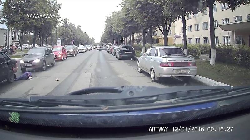 В Йошкар-Оле (Марий Эл) 2-классница внезапно выбежала на дорогу и была сбита автомобилем