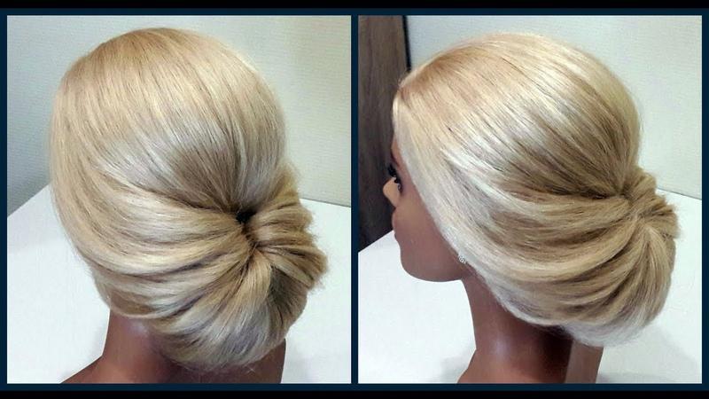 Легкий вариант для создания самой себе Вечерней Прически Fast light evening hairstyle for yourself