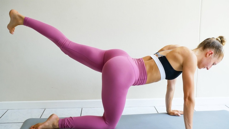 10 MIN BOOTY BURN At Home Workout (No Equipment)