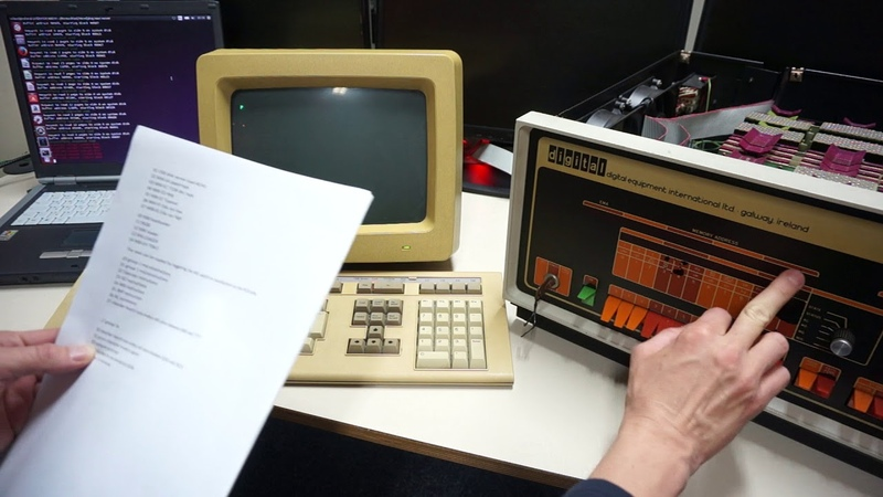 M847 extended version PDP8e PDP8m PDP8f bootstrap loader