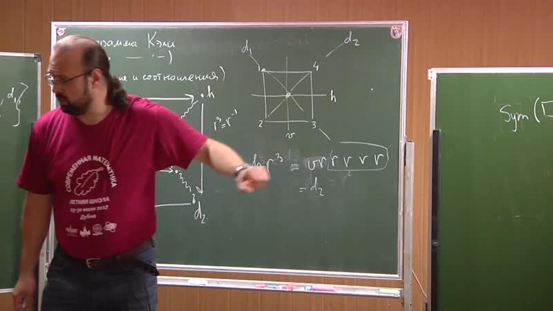 Уравнения и симметрии [3] Антон Джамай ЛШСМ