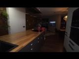 Дизайн квартиры с панорамными окнами 110 кв.м. ЖК Аквамарин