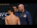 UFC 206- Doo Ho Choi vs Cub Swanson Weig
