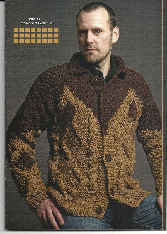 男式开襟羊毛衫 - maomao - 我随心动