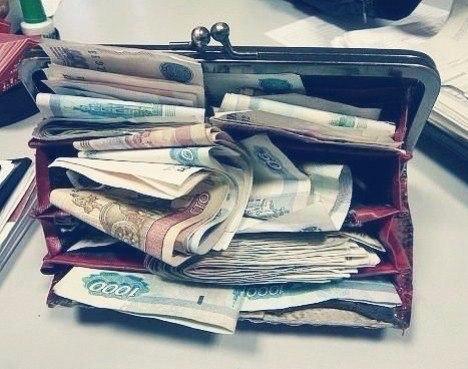 Вот таким должен быть кошелек у женщины!… (1 фото)