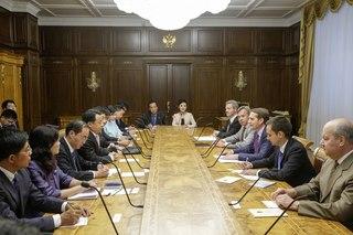 Встреча с делегацией Китайской Народной Республики