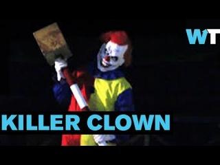 Terrifying Killer Clown Stalks Prank Victims | What's Trending Now