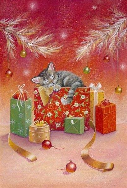 Рождественские картинки от Sarah Summer
