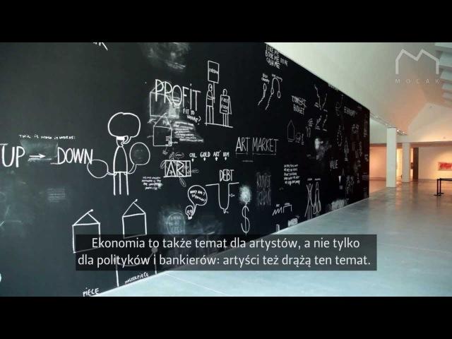 Ekonomia w sztuce otwarcie wystawy Economics in Art opening