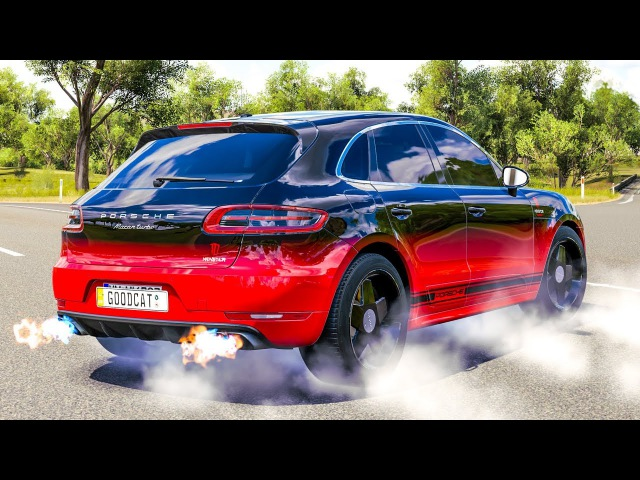 Forza Horizon 3 - Porsche MACAN TURBO 2015 | PC Gameplay HD 1440p Thrustmaster T300 RS GT Edition