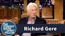 Richard Gere Gets the Tonight Show Crowd Riled Up