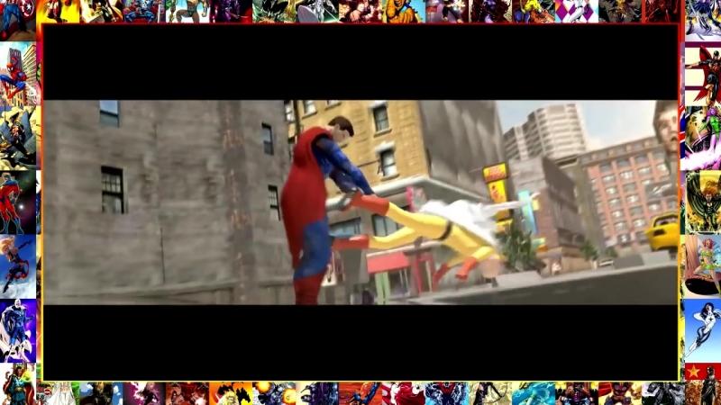 SAITAMA (ONE PUNCH MAN) vs. SUPERMAN - Сайтама против Супермена.mp4