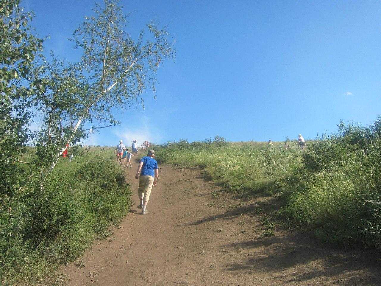 Вперёд - на гору Любви (25.06.2013)