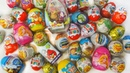 Новая коллекция киндер сюрприз 2018, раскрытие киндеров и обзор игрушек New Kinder Surprise