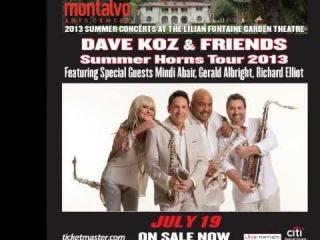 DAVE KOZ & FRIENDS feat JEFFREY OSBORNE ▰ God Bless the Child【HQ】
