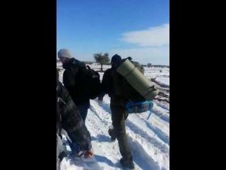 Братья переходят границу в Шам (Граница Турция-Сирия)