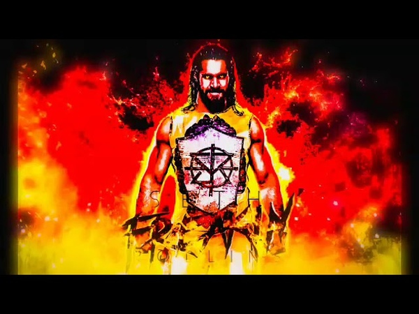 WWE - Seth Rollins TitanTron 2018-2019