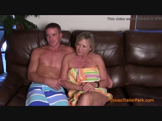Real mother and son - Interview